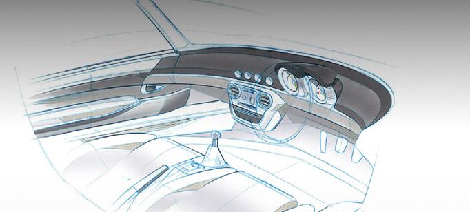 Visuel design automobile