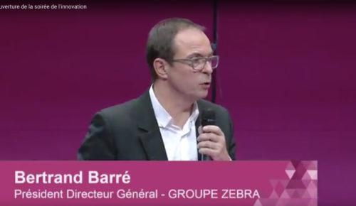 Ouverture de la soirée d'innovation par Bertrand Barré – Entreprise du futur