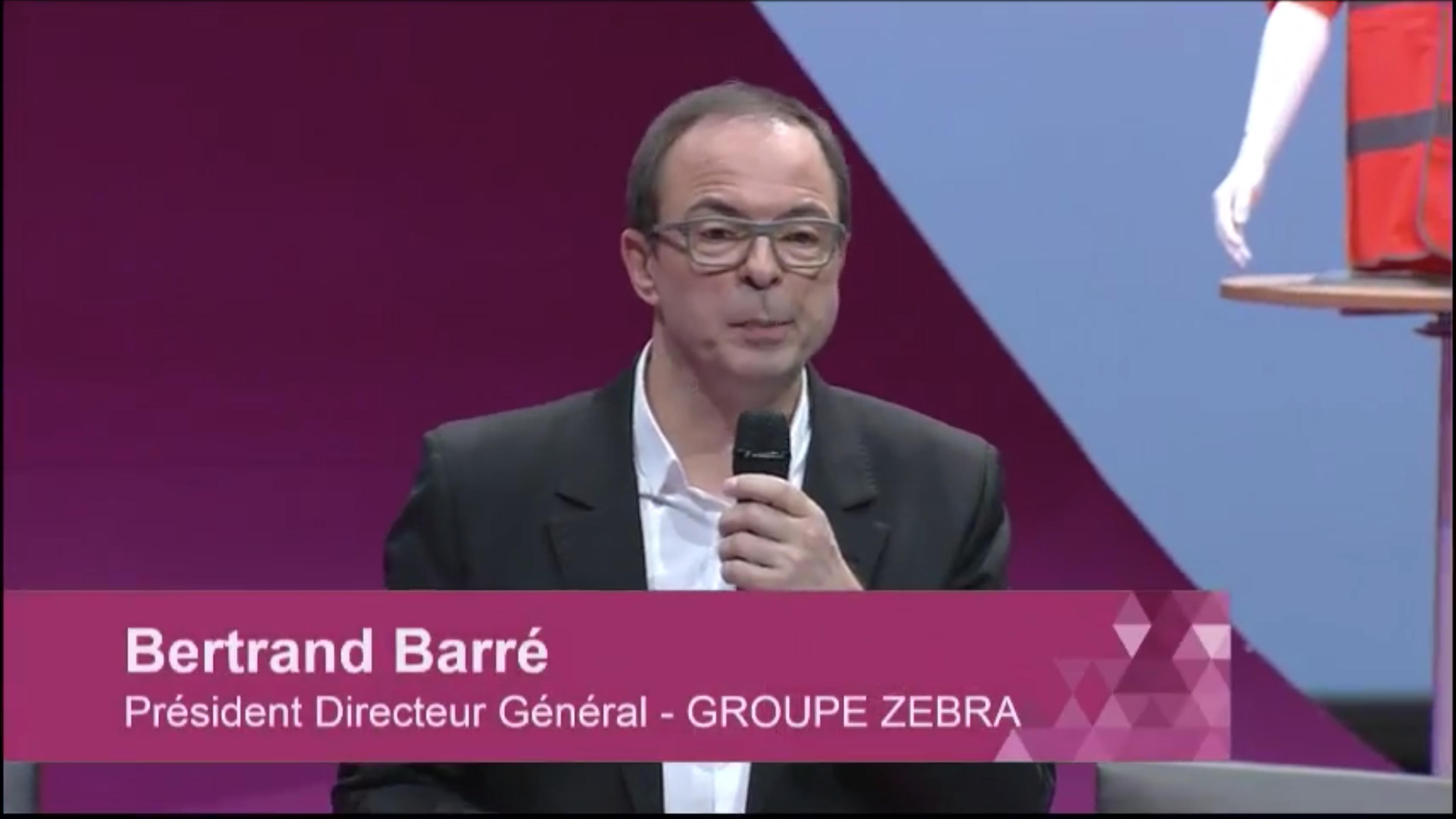 Bertrand Barré en direct du congrès Entreprise du futur
