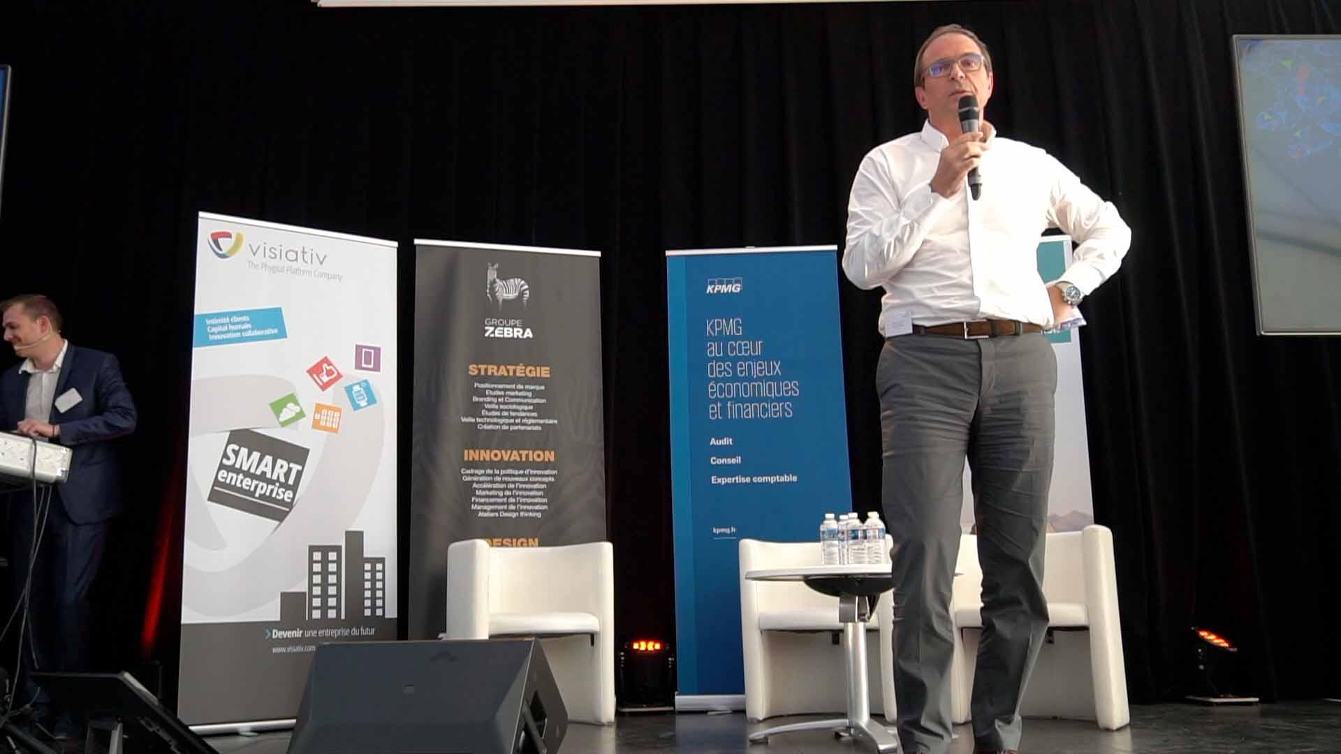 Conférence Bertrand Barré - 2ème édition de l'innovation night by edfutur
