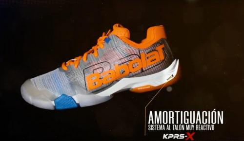 La nouveauté Babolat – La chaussure Jet Premura, Design by Groupe Zebra