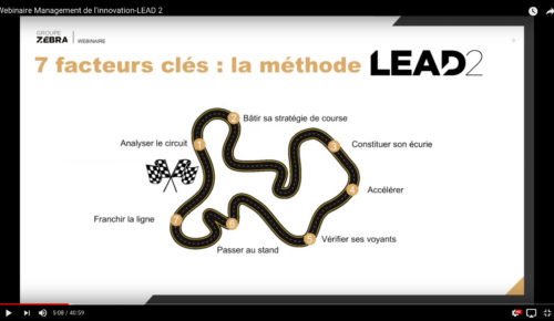 Webinaire – Les 7 facteurs-clé pour accélérer et concrétiser vos projets d'innovation – La méthode LEAD2