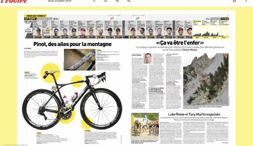 Beautiful achievement of GROUPE ZEBRA for Lapierre!