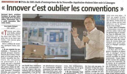 Innover c'est oublier les conventions