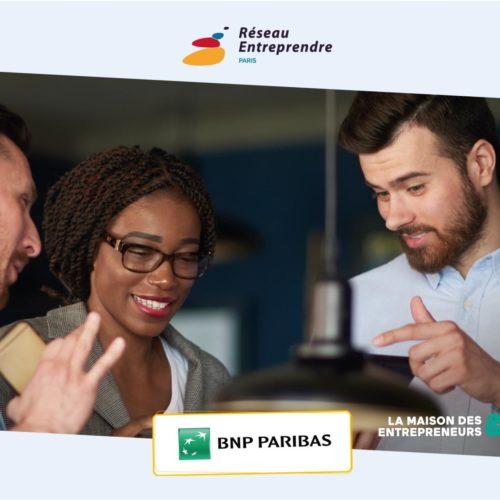 Maison des entrepreneurs&co BNP Paribas