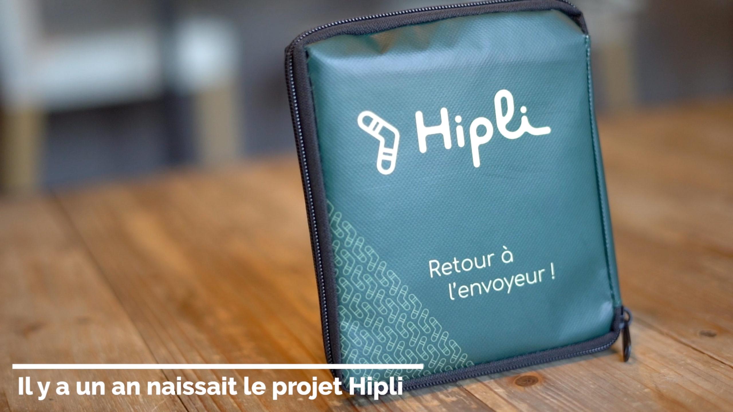 Coup de projecteur sur le projet Hipli – Le colis zéro déchet