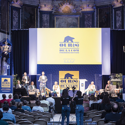 GROUPE ZEBRA reçoit l'OURS d'or de l'innovation