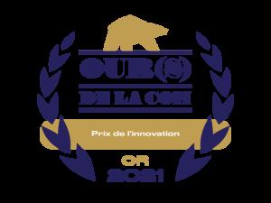 Logo prix ours de la com